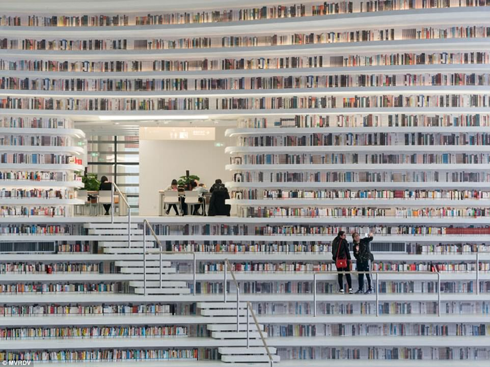 Futuristic Library Opened In China